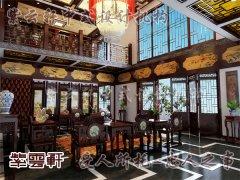中式室内客厅装修5