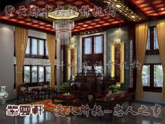 中式室内客厅装修6