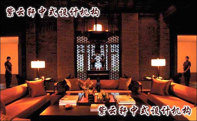 中式古典酒店装修效果图2