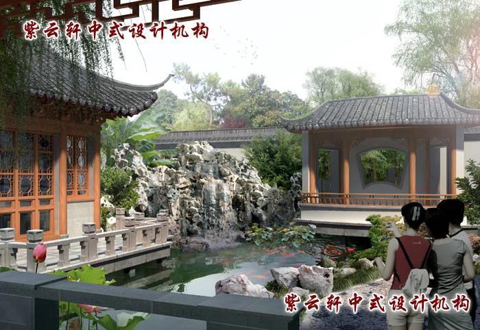 中式古典庭院设计8