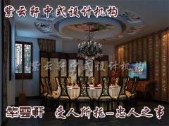 茶楼中式设计之餐厅中式装修图片