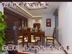绍兴别墅新中式风格之中式茶室装修效果图