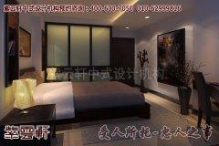 安静简约的中式卧室设计