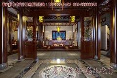 清幽雅致的中式茶楼效果图