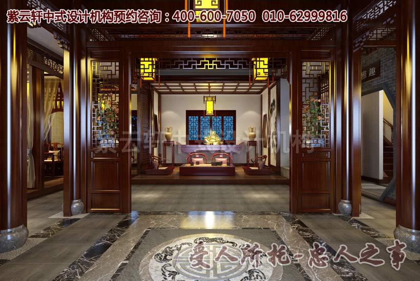 清幽雅致的中式茶楼装修效果图
