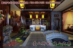 清韵自然的中式茶楼装修效果图