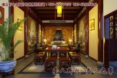 中式茶楼简约风格装修效果图