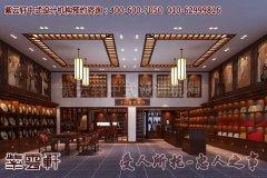 舒心享受的中式茶馆大厅装修效果图