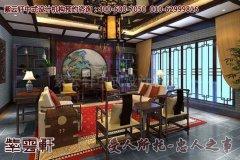 生机盎然的中式别墅客厅装修效果图