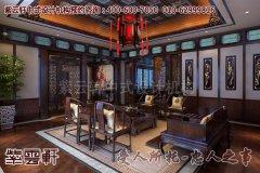 浪漫温馨的会所客厅中式设计装修效果图