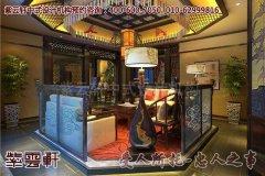 清静无为的会所小客厅中式设计装修效果图