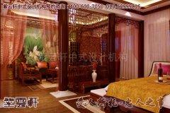 温馨浪漫的古典风格别墅卧室设计效果图