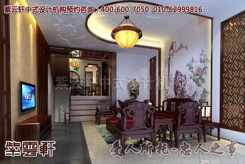 古典别墅客厅装修效果图
