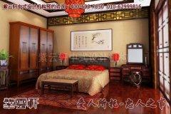 古典韵味的中式卧室设计效果图