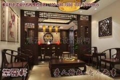 新古典中式别墅客厅设计效果图
