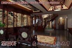 山东别墅中式装修古典风格效果图―中堂