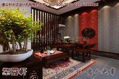 清新的别墅中式设计效果图―客厅