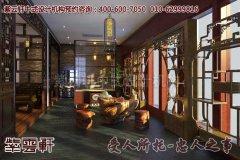 茶楼中式装修古典风格效果图―品茗区