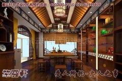 武汉某客户茶楼中式设计风格效果图―茶室2