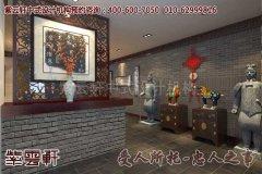 徐州某办公室中式设计装修效果图―门厅