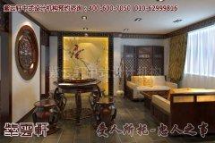 徐州新中式办公室设计风格效果图―会客厅