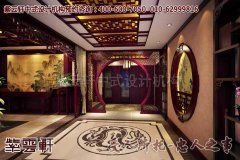 苏州某中式宝剑展厅设计效果图―过道