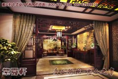 苏州龙泉中式宝剑展厅装修之大堂效果图