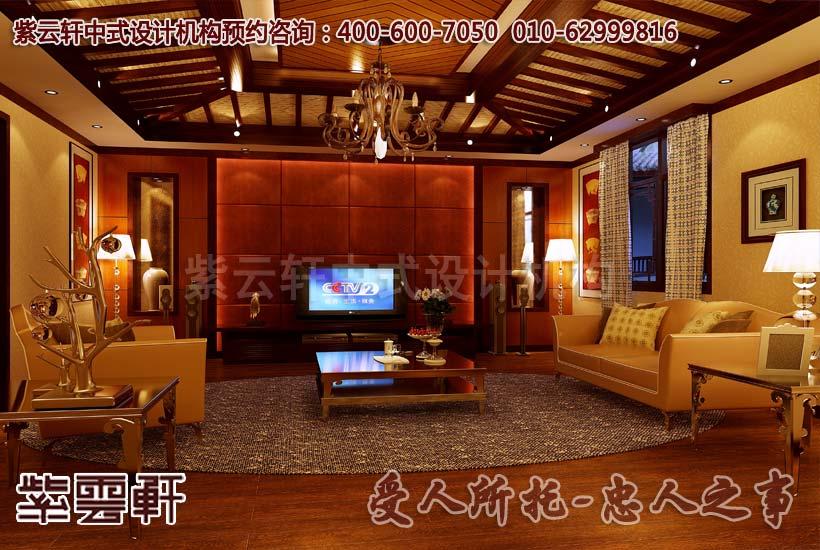 古典中式四合院设计之卧室效果图