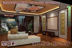 江西某古典中式别墅设计装修效果图―楼梯
