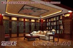 古典中式别墅装修效果图之客厅