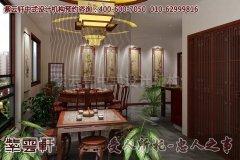 南昌某古典平层中式设计装修效果图―茶室