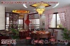 南昌某古典平层中式设计装修效果图―餐厅