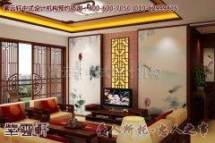 平层古典中式设计效果图―客厅
