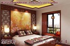 温馨舒适的古典中式平层装修效果图―卧室