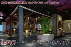 上海某古典中式餐饮会馆设计装修效果图―包厢