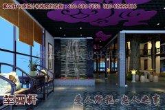 古典中式餐饮会馆设计之门面效果图尽显辉煌气势