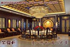 上海刘董新中式酒店设计效果图―包厢高贵、典雅