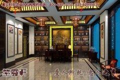 烟台某简约中式展厅装修效果图―迎宾厅