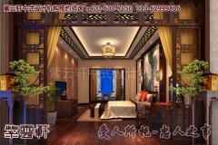 厦门某复式住宅中式装修图片―卧室
