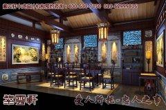 清净高雅的古典中式四合院装修效果图―收藏室