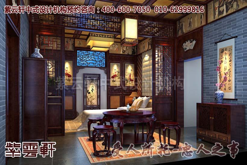 卧室中式装修图片2