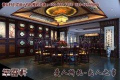 上海某会所古典中式装修效果图―包厢