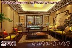 上海周总别墅简约中式装修效果图―会客厅