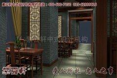 亚运村茶楼古典中式装修效果图―散客区