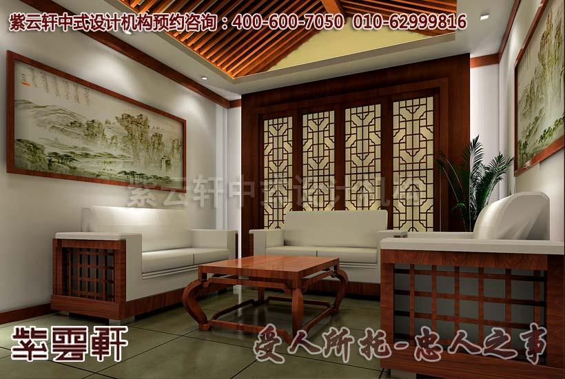 亚运村茶楼古典中式装修效果图—茶室_紫云轩中式设计