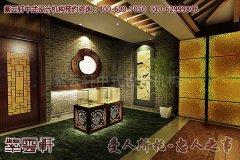 扬州茶楼古典中式装修效果图之走廊