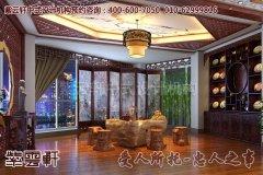 南昌某客户古典中式会所装修效果图―茶室