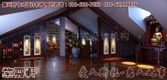 长沙李先生别墅中式装修图片之三楼展示区