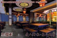 西宁某客户酒店中式装修图片1