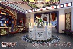 西宁某客户酒店中式装修图片之大厅